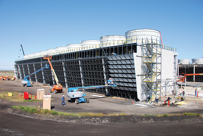 New Cooling Tower Construction