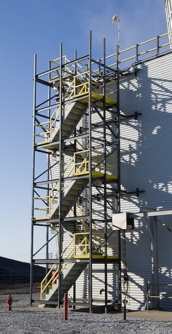 Staircase Tower Style : Stairs walkways and ladders midwest cooling towers