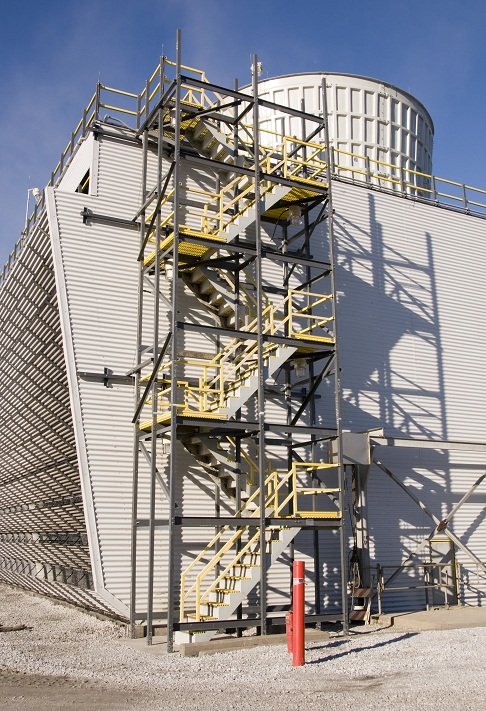 Stairs Walkways And Ladders Midwest Cooling Towers